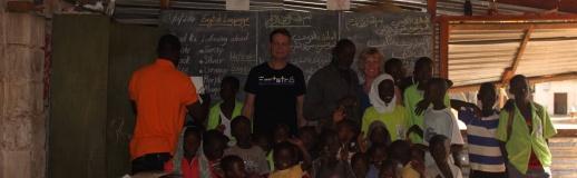 Vrijwilligersproject school Gambia