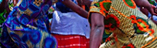 Dansworkshop Gambia