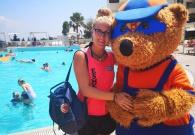 Esmee als hotel Animator in Spanje en Griekenland
