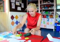 Kinder entertainer in Spanje